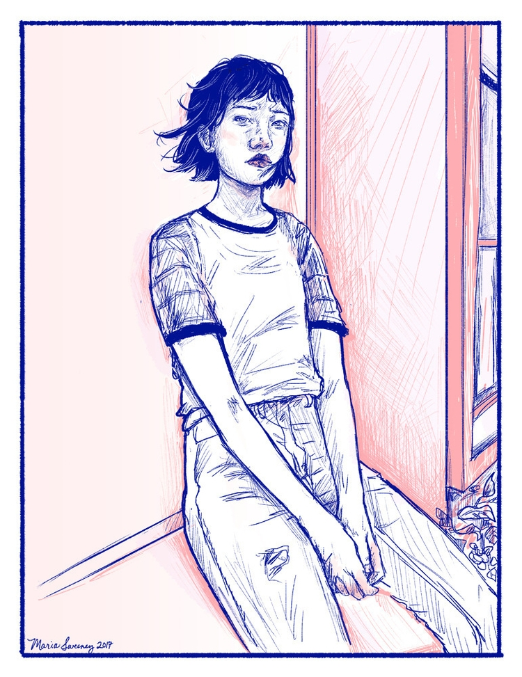 Window View - comics, illustration - mariasweeney | ello
