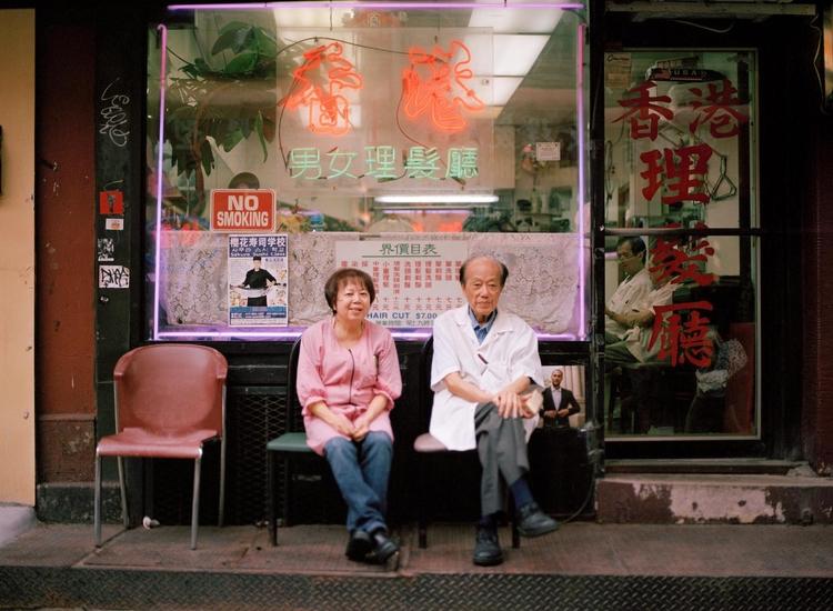 couple front laundromat Chinato - benkrueger | ello