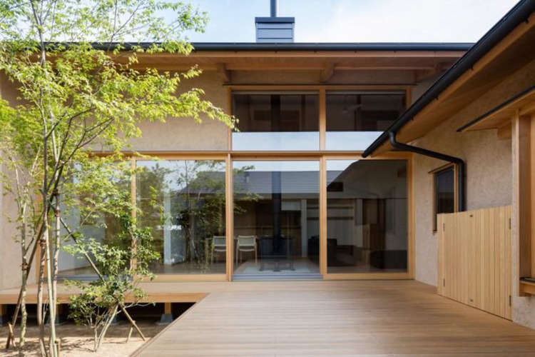 Japanese courtyard house case s - red_wolf   ello