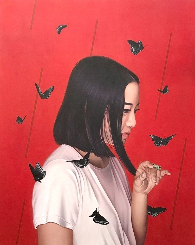 48x60, oil canvas Rose 24x48, A - ryang2723 | ello