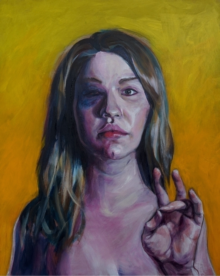 Date 12 15 Acrylic hardboard - contemporaryrealism - cheneylansard | ello