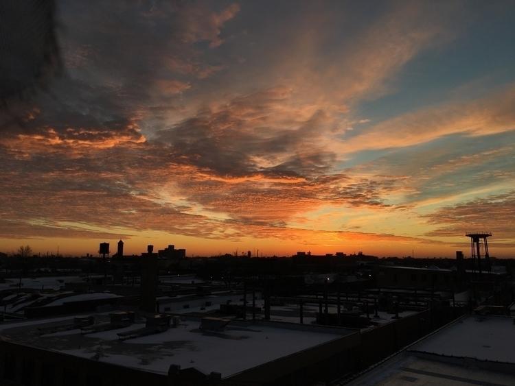 Sunset views studio tonight.  - iphonephotography - aarondolan   ello