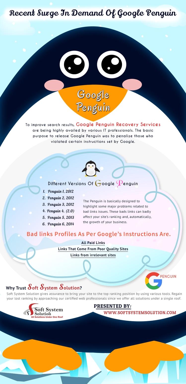 Google Penguin Recovery Service - softsystemsolution   ello