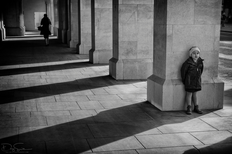 girl shadows - Bath,, streetphotography - dazsmith | ello