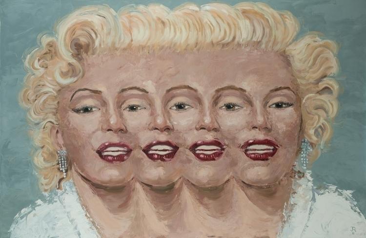 Marilyn. 48 74 Oil Canvas. 2016 - jackrosenberg | ello