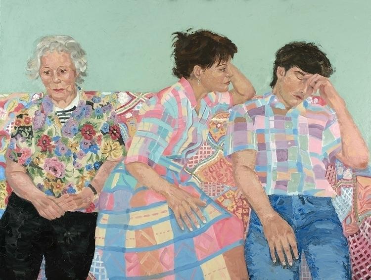 Family. 45 60 Oil panel. 2017 - painting - jackrosenberg | ello