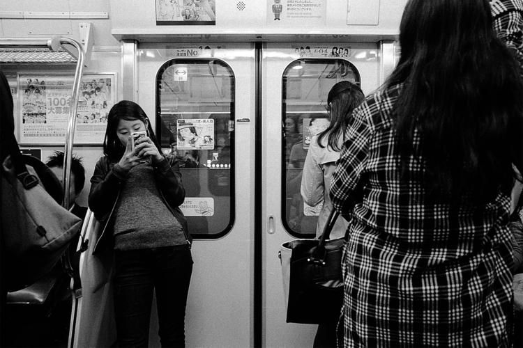 Regard de Gaikokujin - subway, tokyo - adrienblot | ello