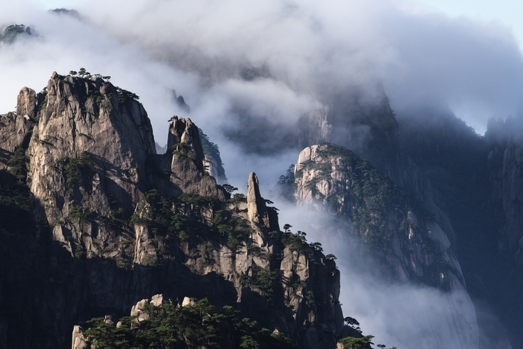 early morning - China, mountains - tingc | ello