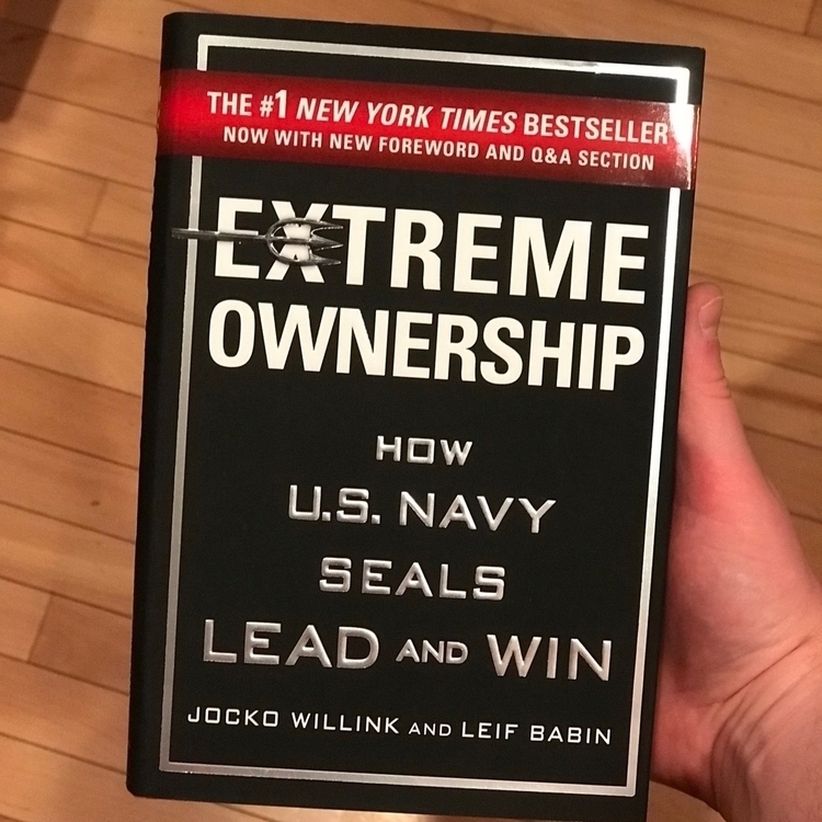 Loving read - extremeownership, leadership - andrewqbaker | ello