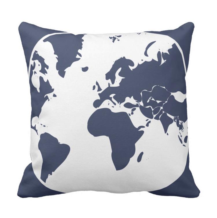 / Throw 41 cm - Earth, Cushion - petro5va5iadi5 | ello