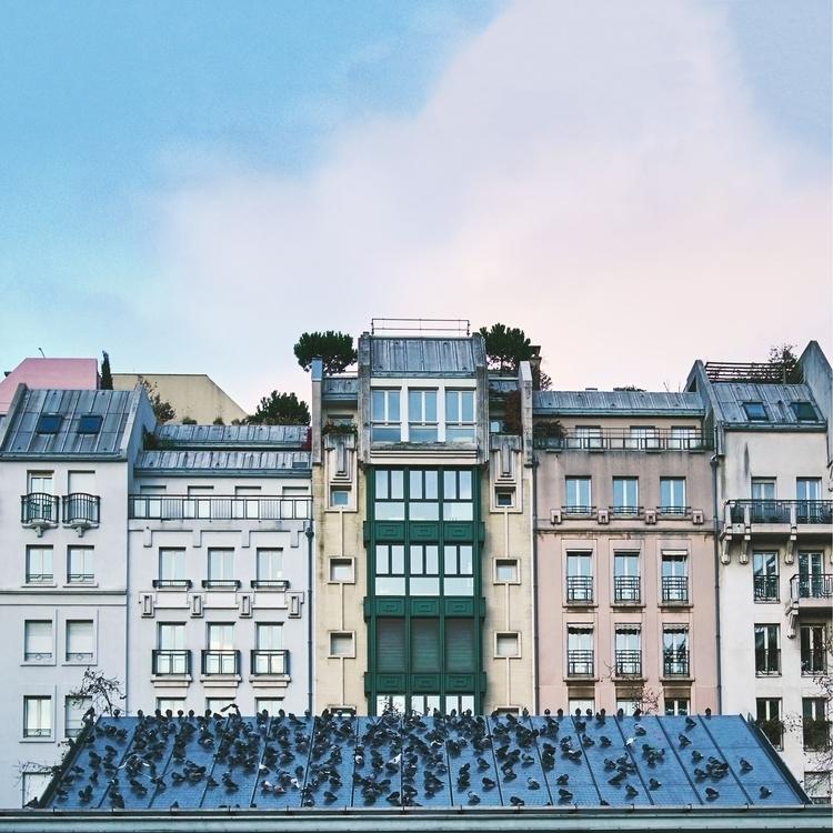 Bande de pigeons - photography, architecture - kloaier | ello