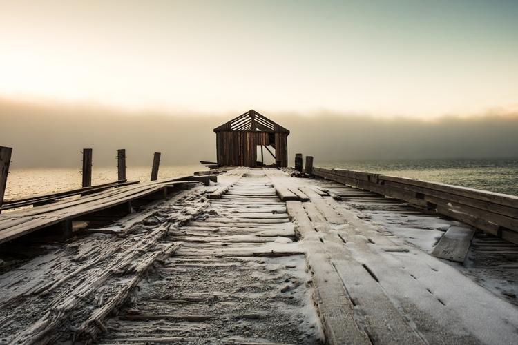 Colesbukta, ghost town Svalbard - malloryontravel | ello