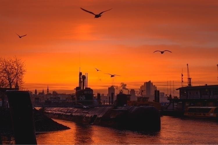 Sunrise Hamburg, Germany - photography - bowchain | ello