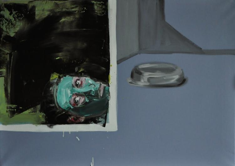 P1 oil, canvas, size 50x70. 201 - judytakrawczyk | ello