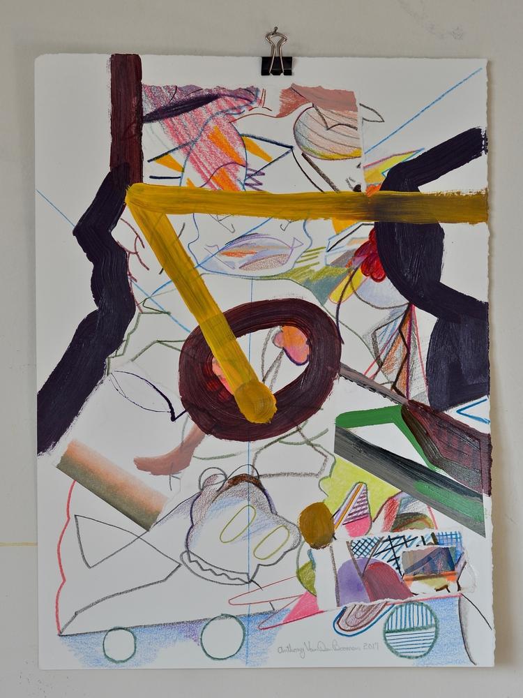 toy box 2017, colour pencil, wa - tonyvandenboomen | ello