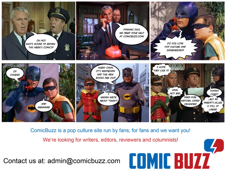 expand team ComicBuzz - writers - comicbuzz | ello