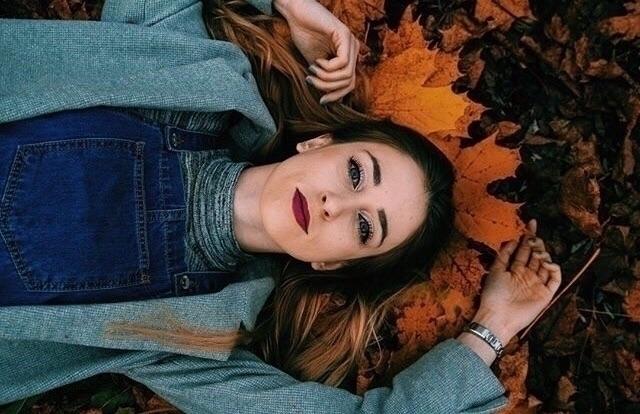 Beauty - girl, hair, wind, autumn - natusia62 | ello