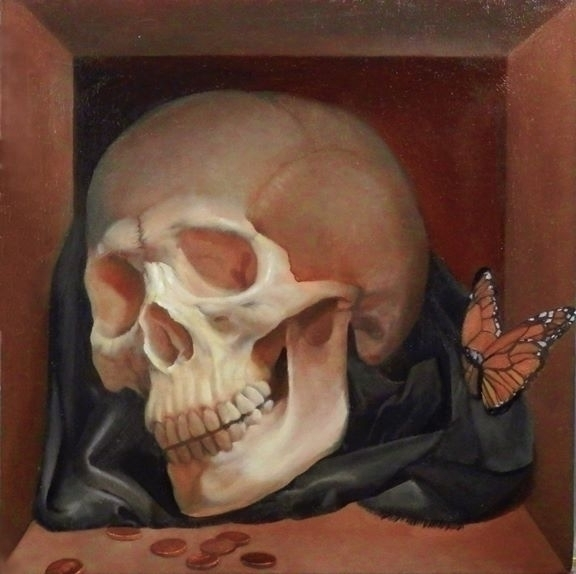 Live Die oil painting panel. 16 - jamesxavierbarbour | ello