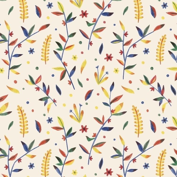 Motif Floral - motif, illustration - studio_liu | ello