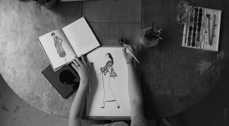 fashion, style, fashionillustration - carmensart   ello