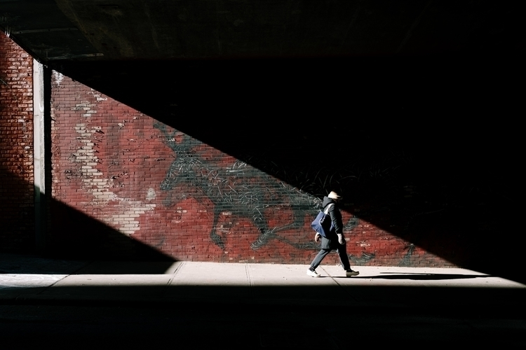 Light Tunnel light tunnel - streetphotography - mikeyboards   ello