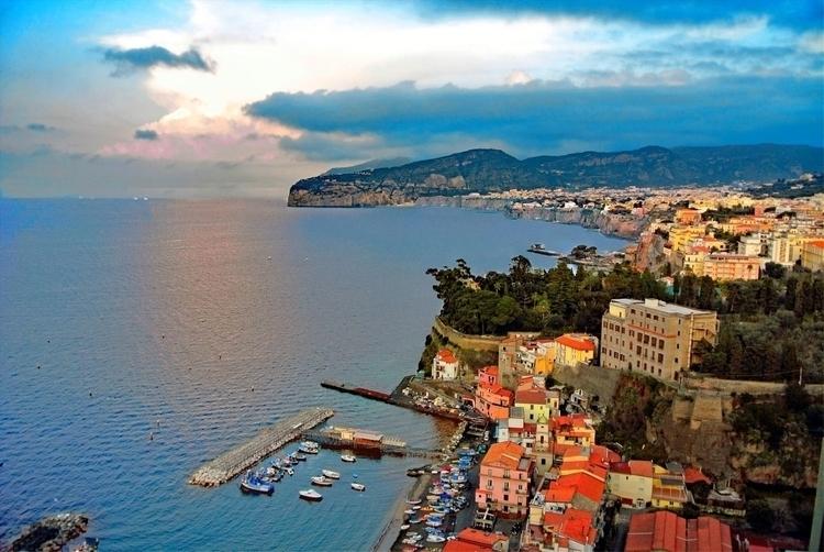 Sorrento Italy twilight - garyrobnett | ello