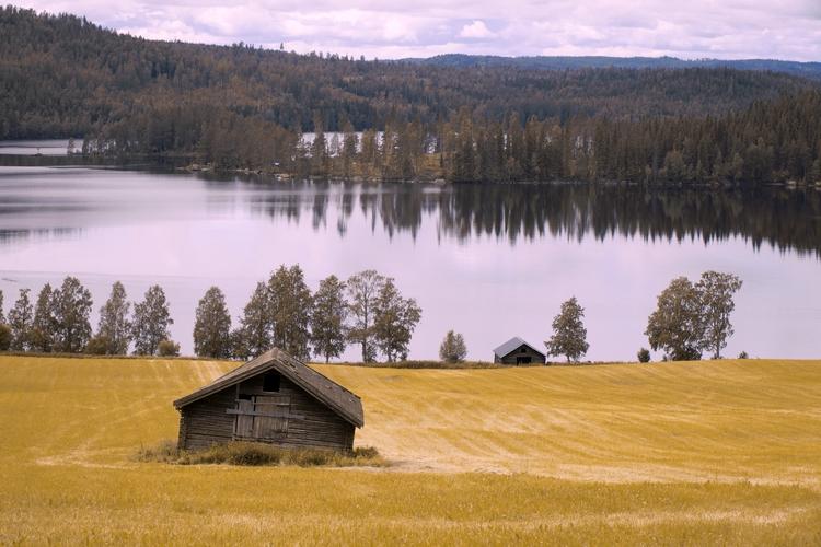 Swedish Shed. Landscape photo s - garethwi | ello