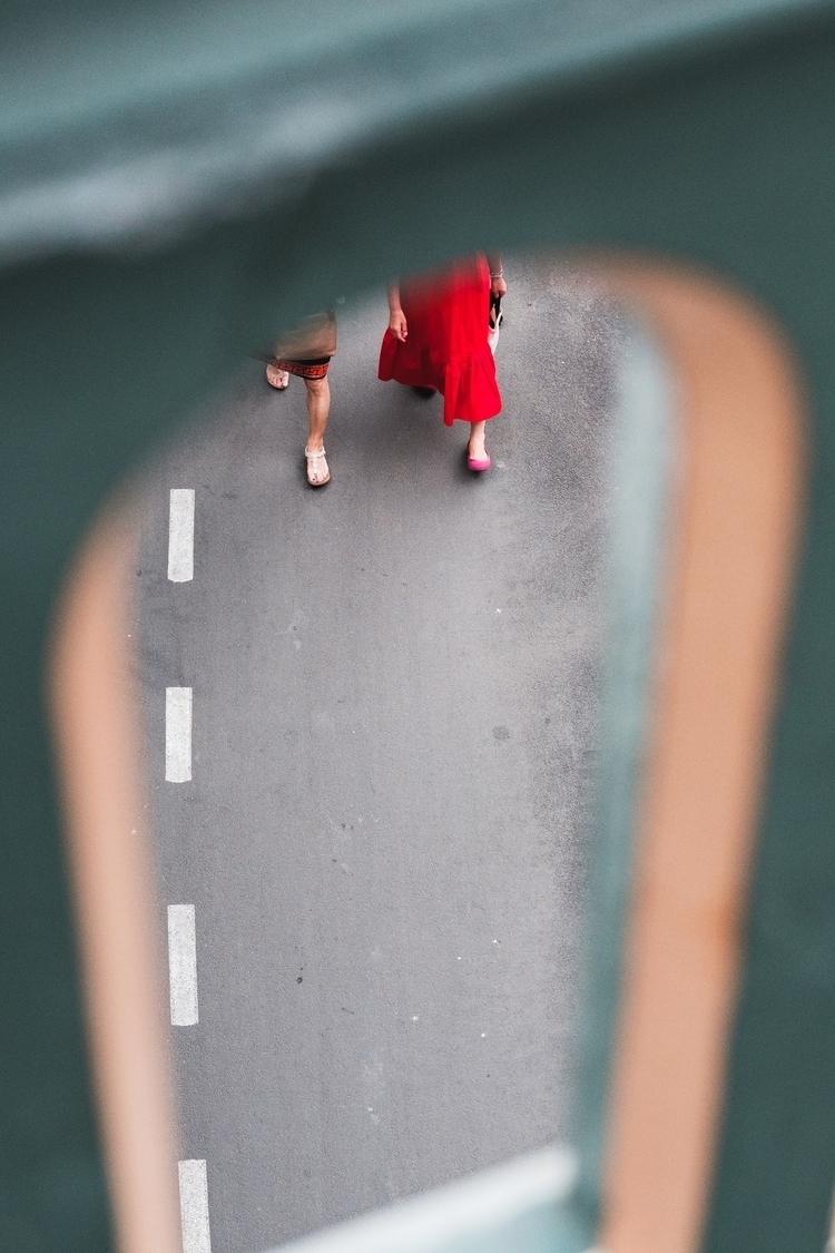 Bridge walks David Clarke - photography - thethinblackframe | ello