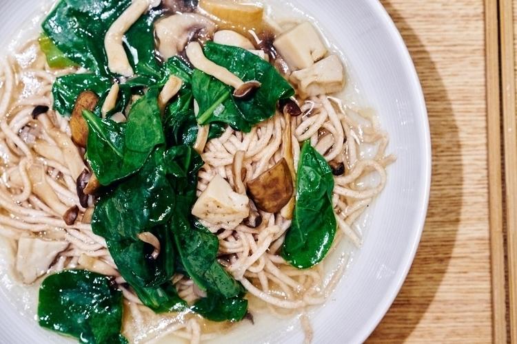 Mushroom noodle - food, foodie, foodies - cata_n | ello