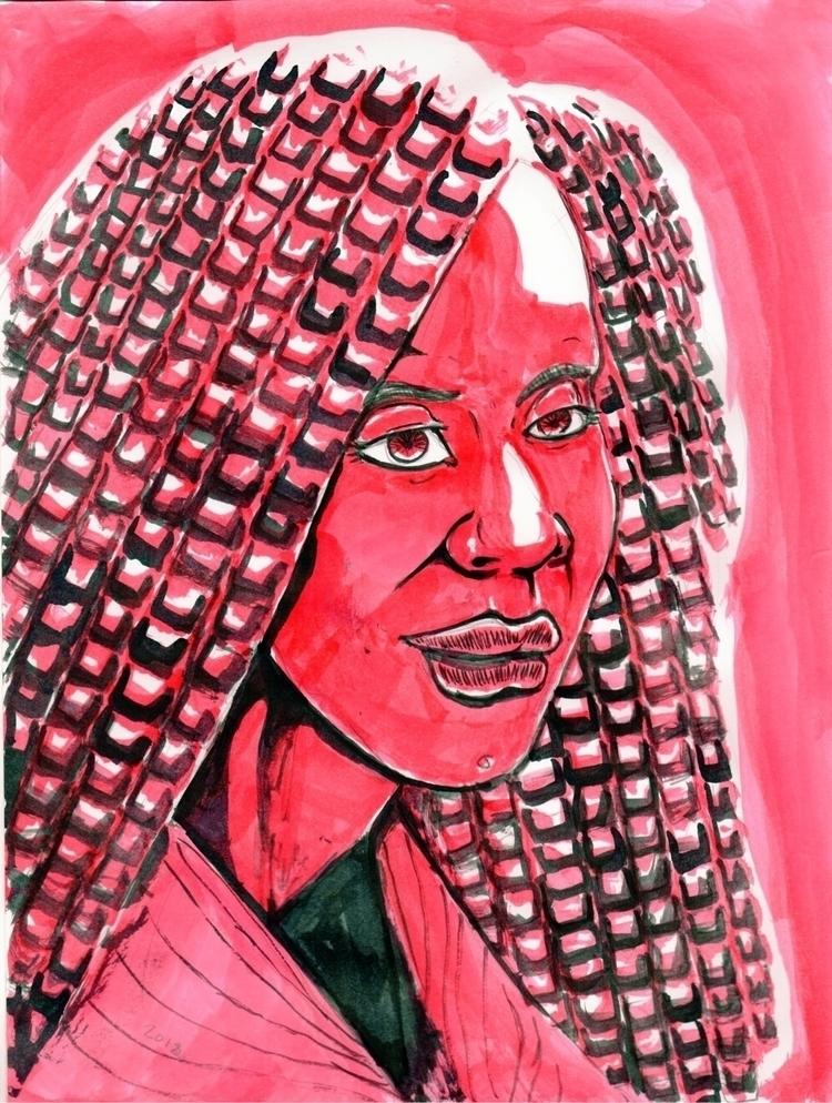 ink, illustration, deadlocks - fiftyfivefives   ello
