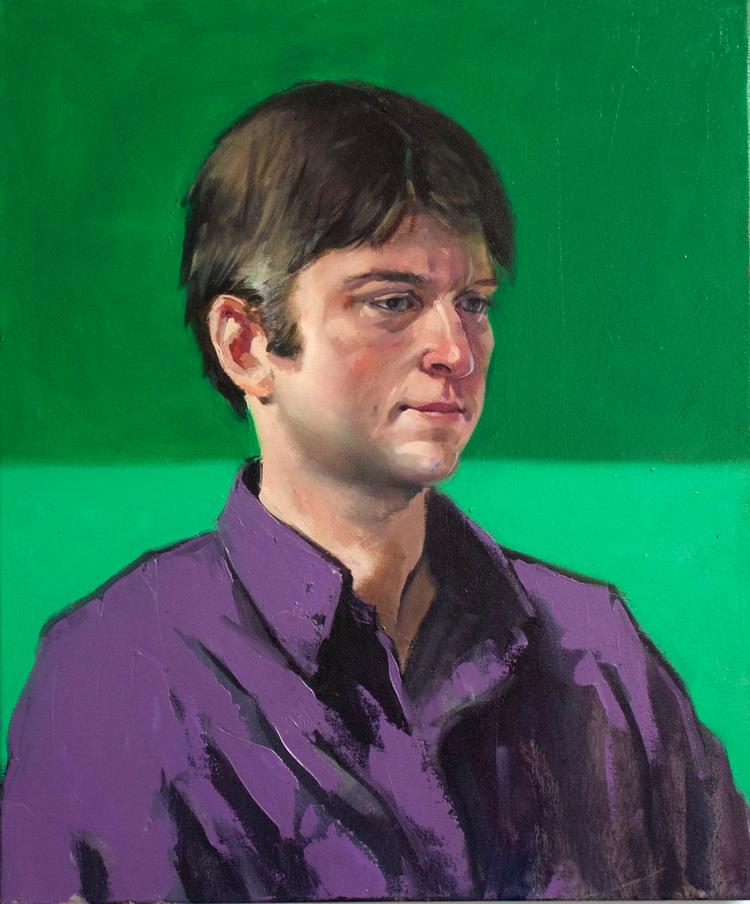 Josh, 20x24, oil canvas - nancybea | ello