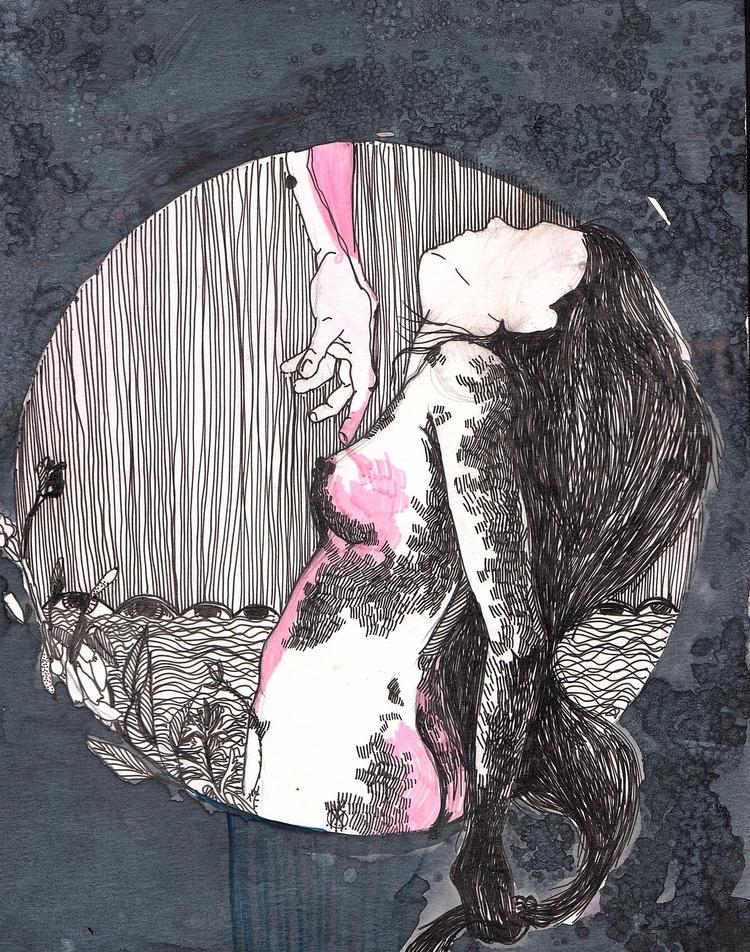Tig illustration; markers; ink - mishian   ello