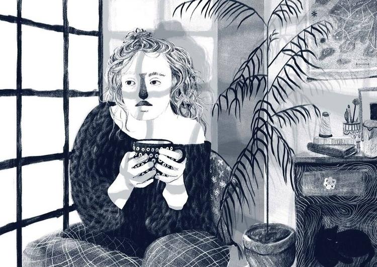 digital drawing series - illustration - juliavilllela | ello