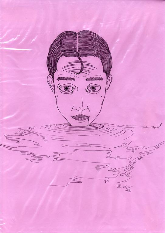 art, drawing, portrait, pink - linsshit | ello