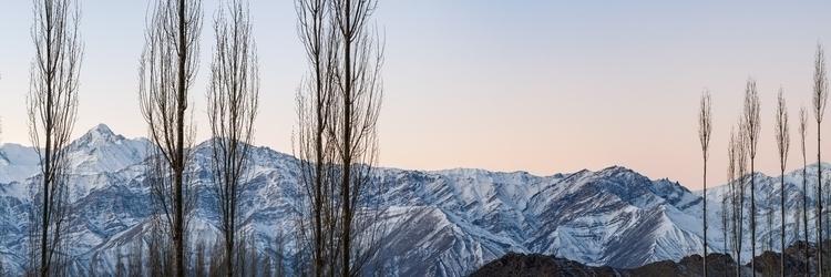 stok range (pano) - leh winter  - aashim_tyagi | ello