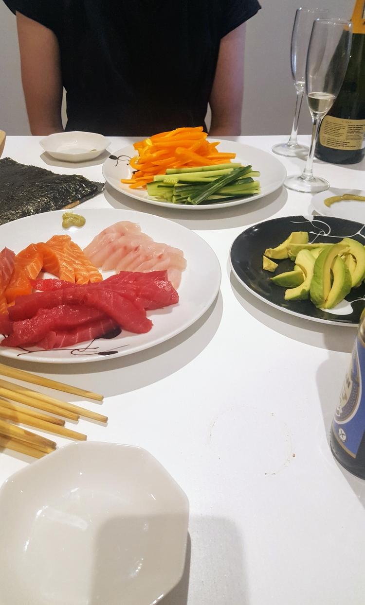 (Homemade) Sushi Champagne - sushi - sezzyharris | ello