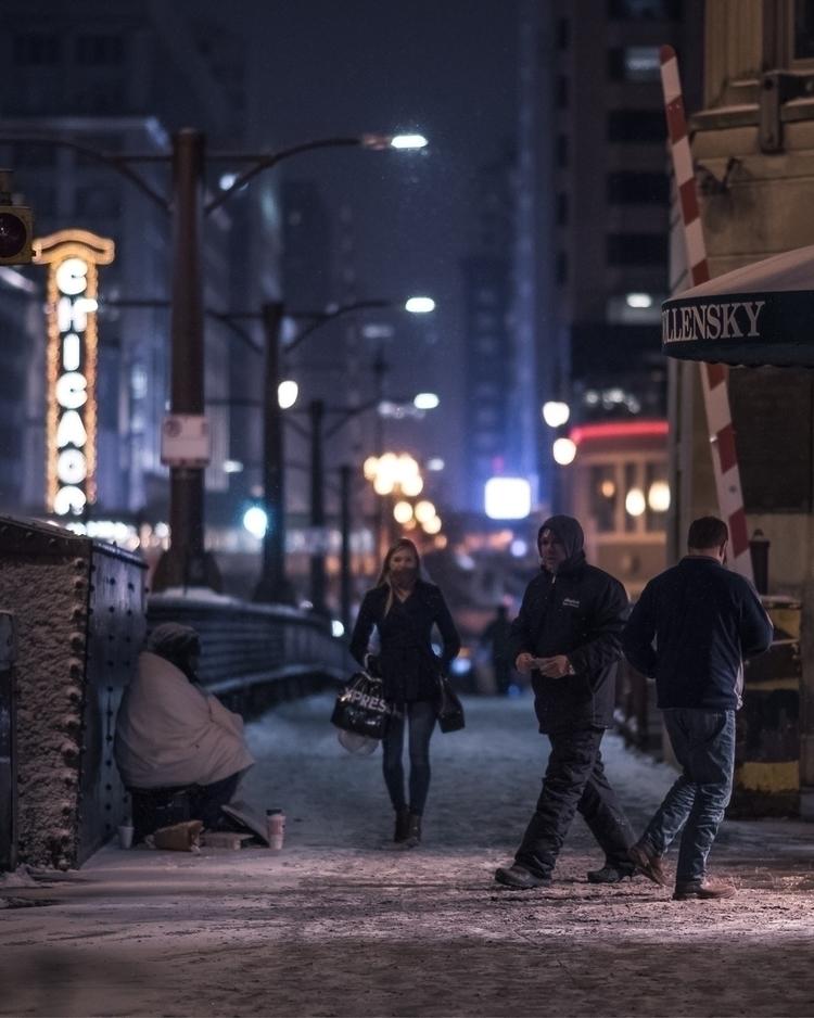 Chicago, winter, photography - craftonandrew | ello