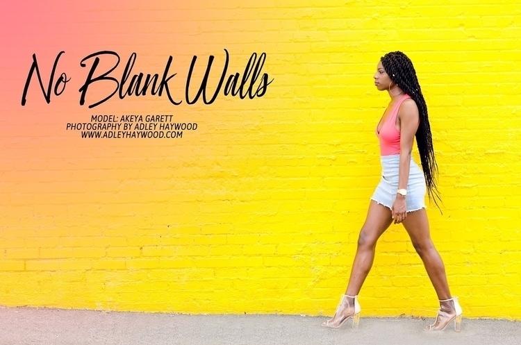 Blank Walls Model: Akeya Garret - a_haywoodphoto | ello