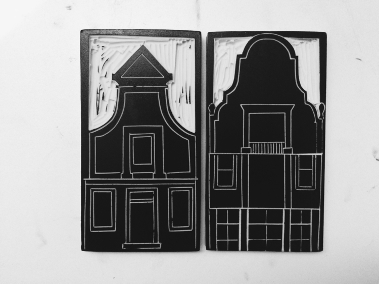 zaandam, zaansehuisjes, illustration - studiomalu | ello