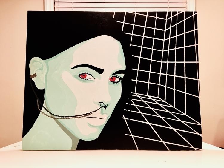 oid | 30 24 Acrylic canvas Subm - christopherruh1 | ello
