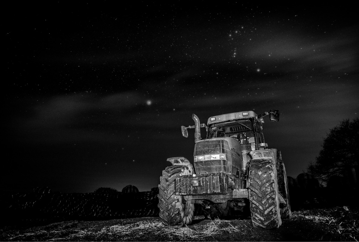 Farming nightlife - farming, longexposure - jgimaging | ello