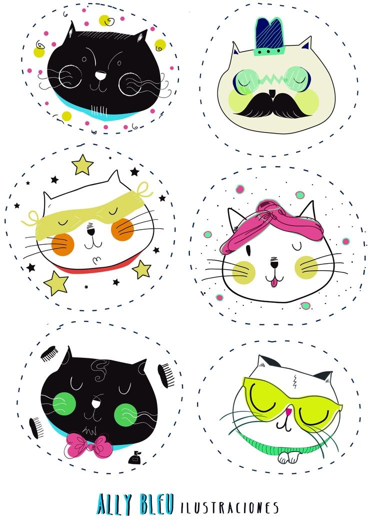 FRIENDS... digital design - Cat - allysandg | ello