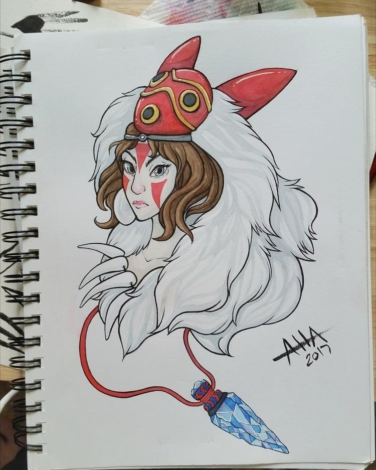 Wolf Princess fanart favorite M - aoiharuko | ello