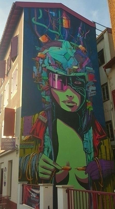 streetart#, biarritz#, artist# - dindaudso | ello