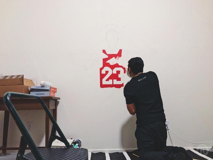 Commission Jordan Kobe Mural IG - reibot | ello