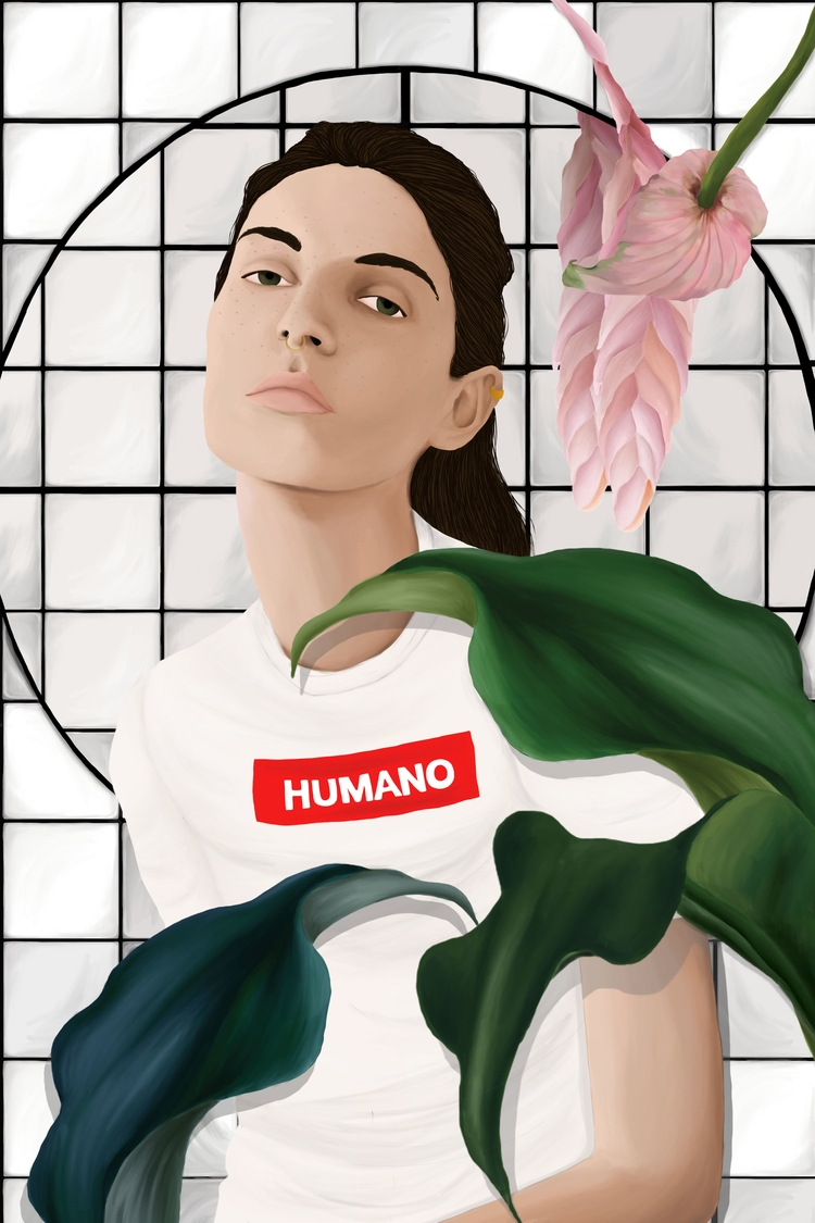 Pieces: Human wanna Bio born sm - stefaniatejada | ello