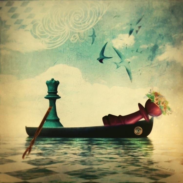Chessboard whimsy - elenigemeni | ello