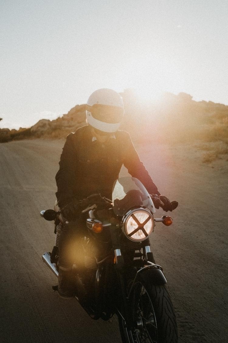 Motorbike, Sunset, photography - maurizio | ello
