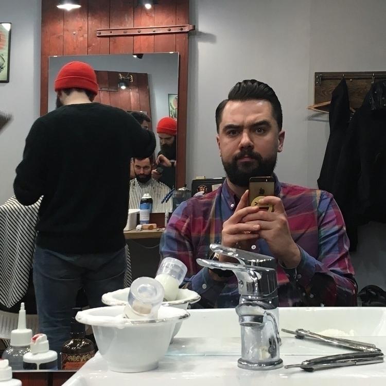 Ello! barber!  - brodatyrebel | ello