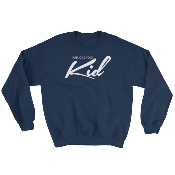 Public School Kid Sweatshirt -  - thebronxbrand | ello